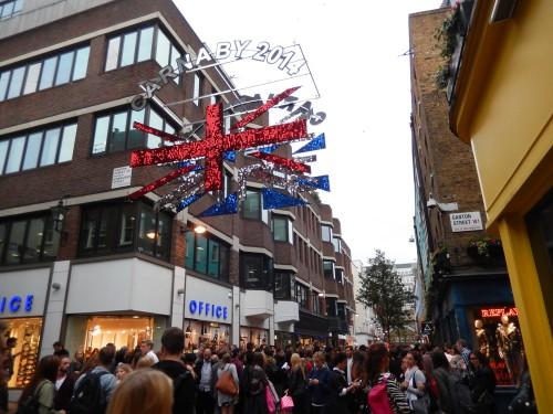 ロンドン カーナビー・ストリート