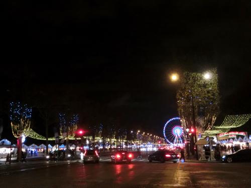 シャンゼリゼ大通り クリスマスマーケット