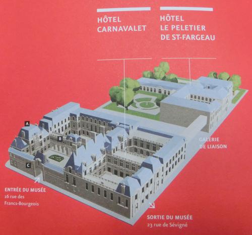 カルナヴァレ美術館・地図