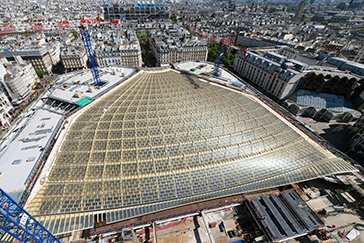 パリ レアル Les Halles La Canopée