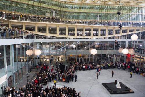 Inauguration de la Canopée