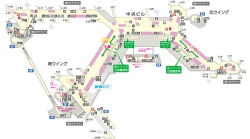 エルメス成田国際空港ターミナル1サウス