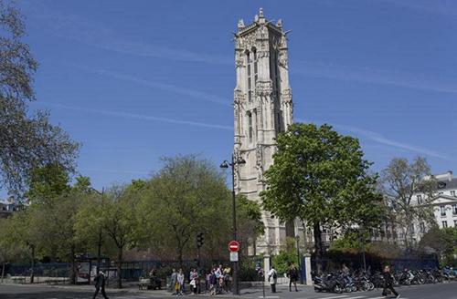 サンジャックの塔 パリ