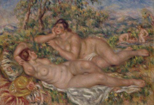 ルノワール オルセー美術館 浴女たち