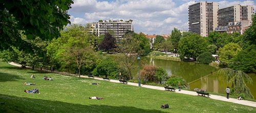 モンスーリ公園 Parc Montsouris