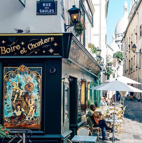 モンマルトル レストラン La Bonne Franquette
