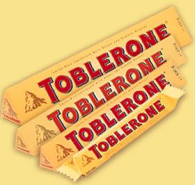 トブラローネチョコレートTOBLERONE