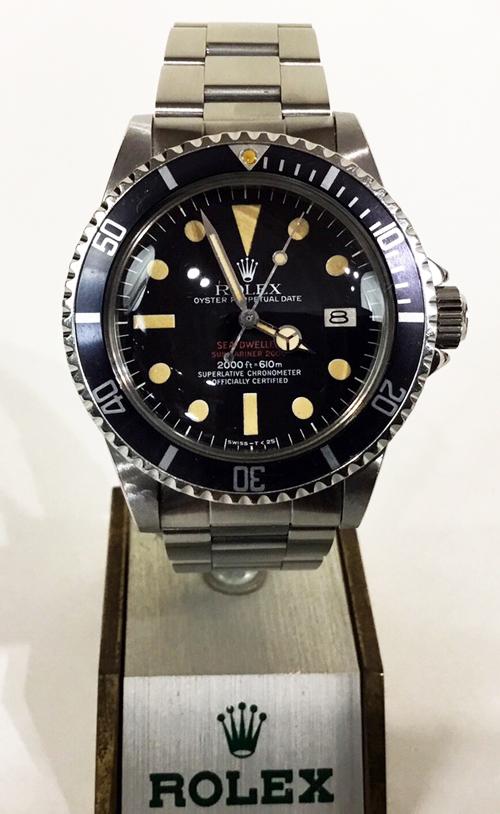 newest 4f600 e90a6 ロレックス シードゥエラー1665 赤シード海の征服者 | エルメス ...