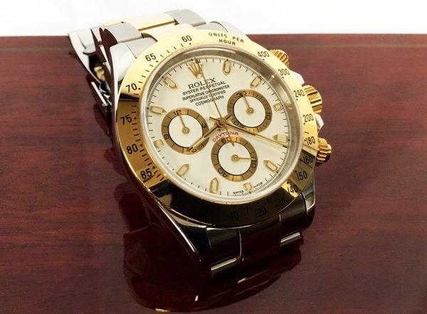 online retailer 4051c e6236 ロレックス・デイトナ116523、レアな2001年初期型 | エルメス ...