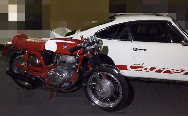 ポルシェ 73カレラRSエンジン搭載車