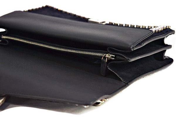 グッチ デュオニュソスの黒ハンドバッグ