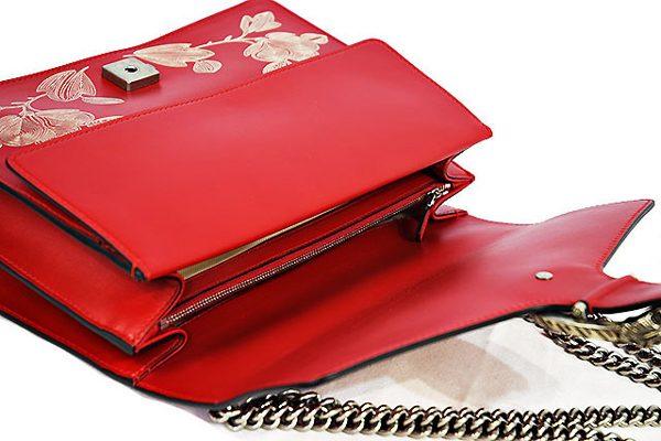グッチ ディオニュソス 赤ハンドバッグ