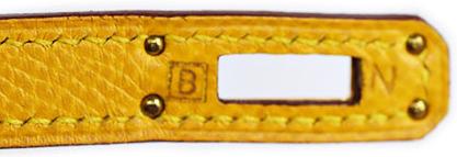 エルメス ミニケリー20 黄色