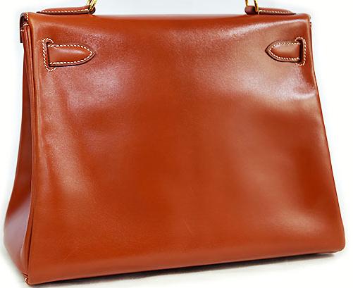 エルメス ケリー28 ブリック 内縫いバッグ