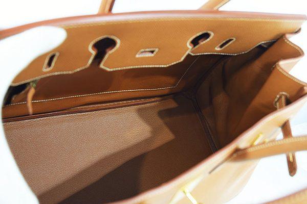 エルメス バーキン35 ゴールド クシュベル