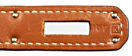 エルメス バーキン35 ゴールド ヴォーガリバー