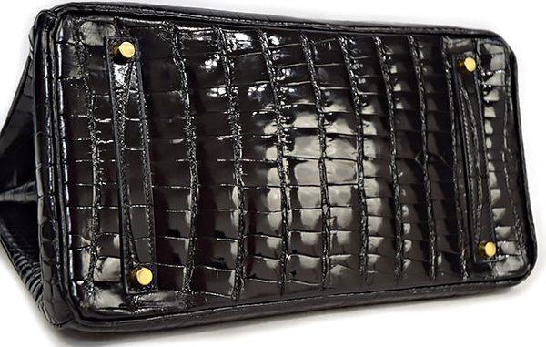 エルメス バーキン35 クロコダイル 黒