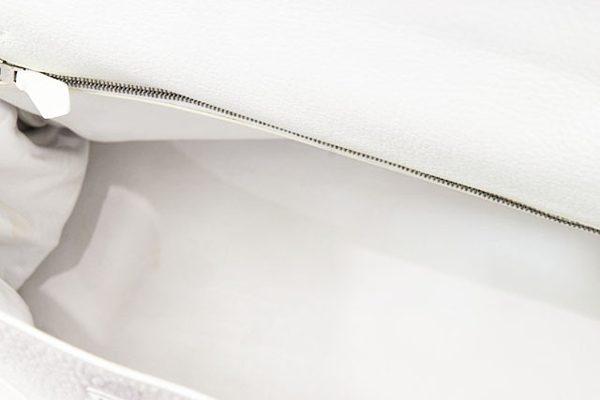 エルメス ケリー35 白 トリヨンクレマンス