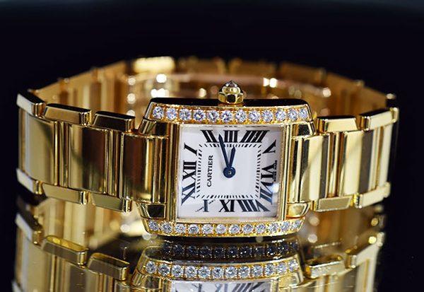 カルティエ 腕時計 タンクフランセーズ