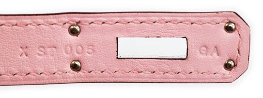 エルメス ケリーカット 美しい桜色