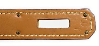 エルメス ケリー28 ナチュラル ボックスカーフ