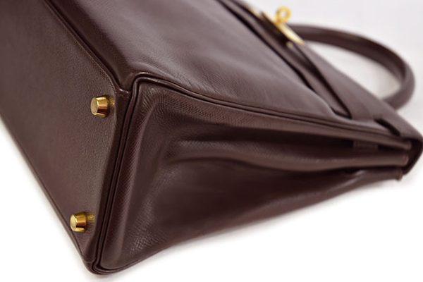 エルメス ケリー32 ショコラ内縫い クシュベル