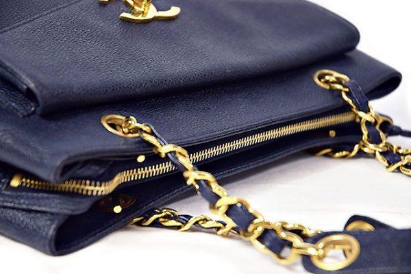 エルメス トートバッグ 紺色