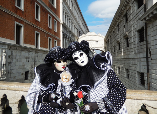 ヴェネツィア カーニバル 衣装