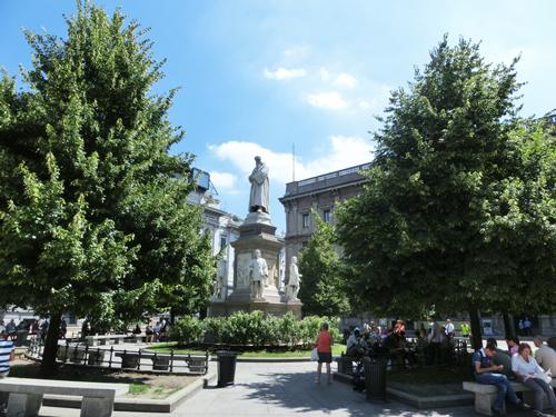 ミラノ・スカラ座広場