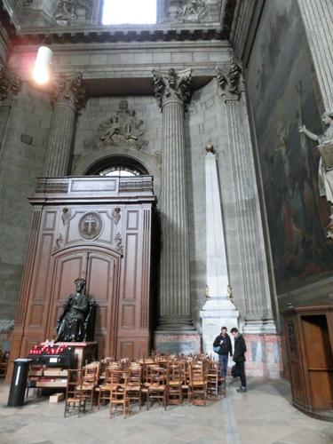パリ サン=シュルピス教会 観光 ダ・ヴィンチ・コード