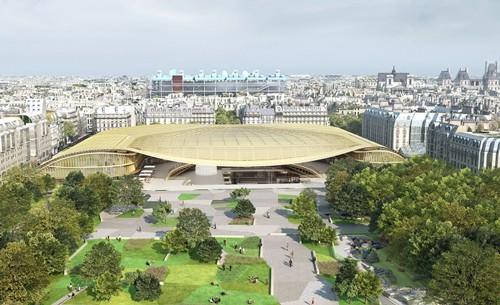 パリ レアル Les Halles