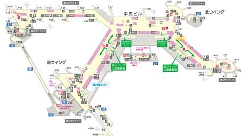 エルメス成田国際空港ターミナル1ノース