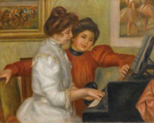 ルノワール オルセー美術館 ピアノ