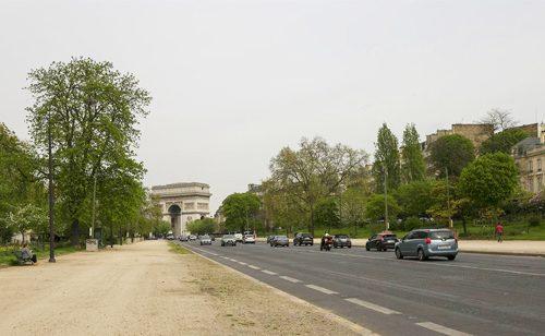 パリ Avenue Foch フォッシュ通り