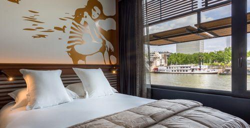 OFF PARIS SEINE 水上ホテル