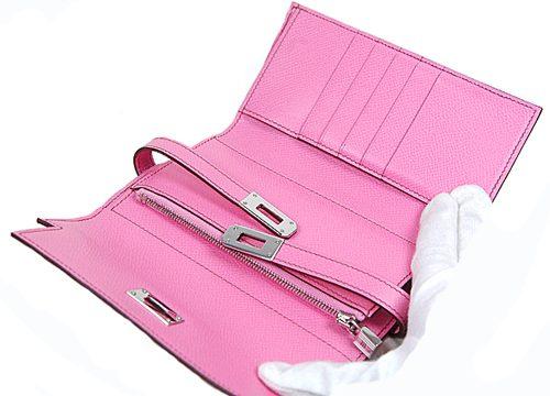 ケリーウォレット ミディアム ピンク